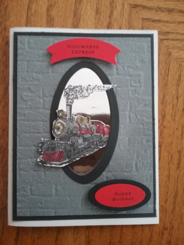 Hogwarts Express Birthday Card