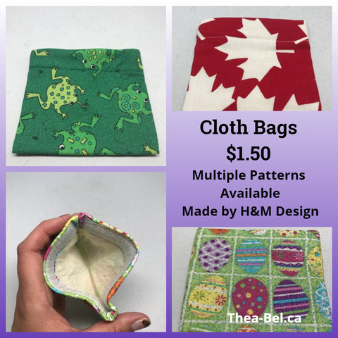 Cloth Bags - Various Patterns