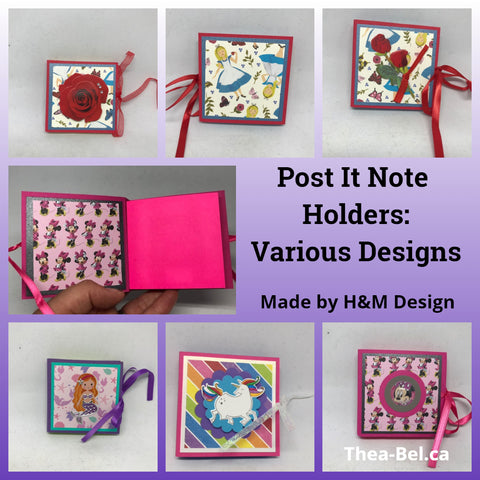 Post It Note Pack - Various Patterns