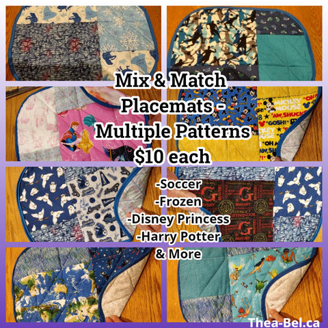 Placemats - Multiple Patterns