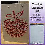 Teacher Clipboards