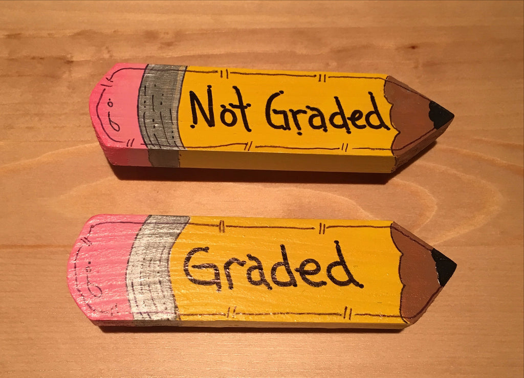Graded, Not Graded Teacher Paperwork Clips