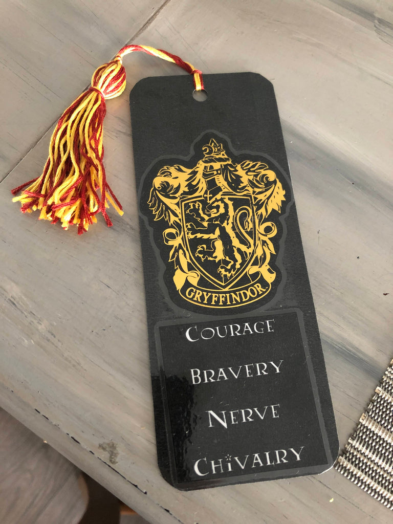 Harry Potter House Crest Bookmarks