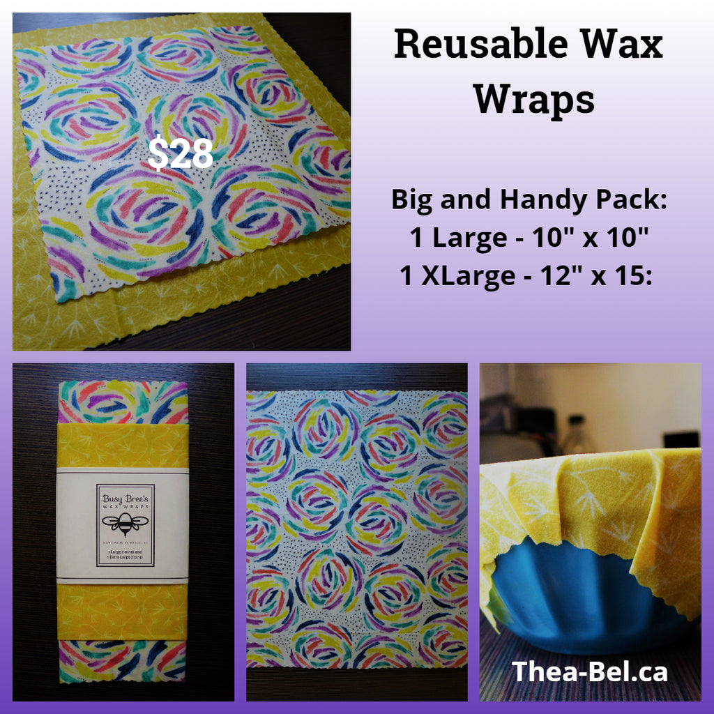 Wax Wraps - Big and Handy Pack