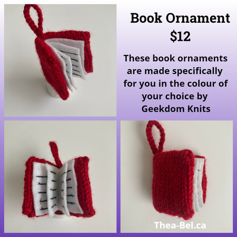 Made to Order: Book Ornament