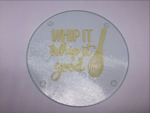Cutting Board - Whip It, Whip it Good