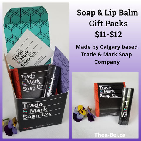 Soap and Lip Balm Gift Boxes