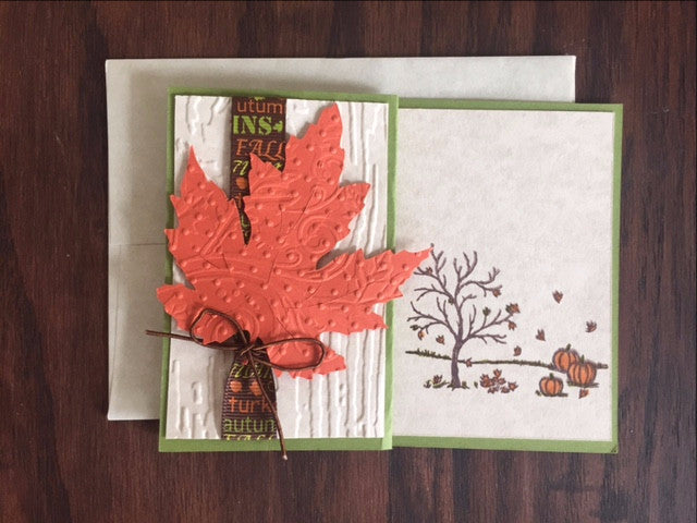 Thanksgiving Card - Leaving Website Soon