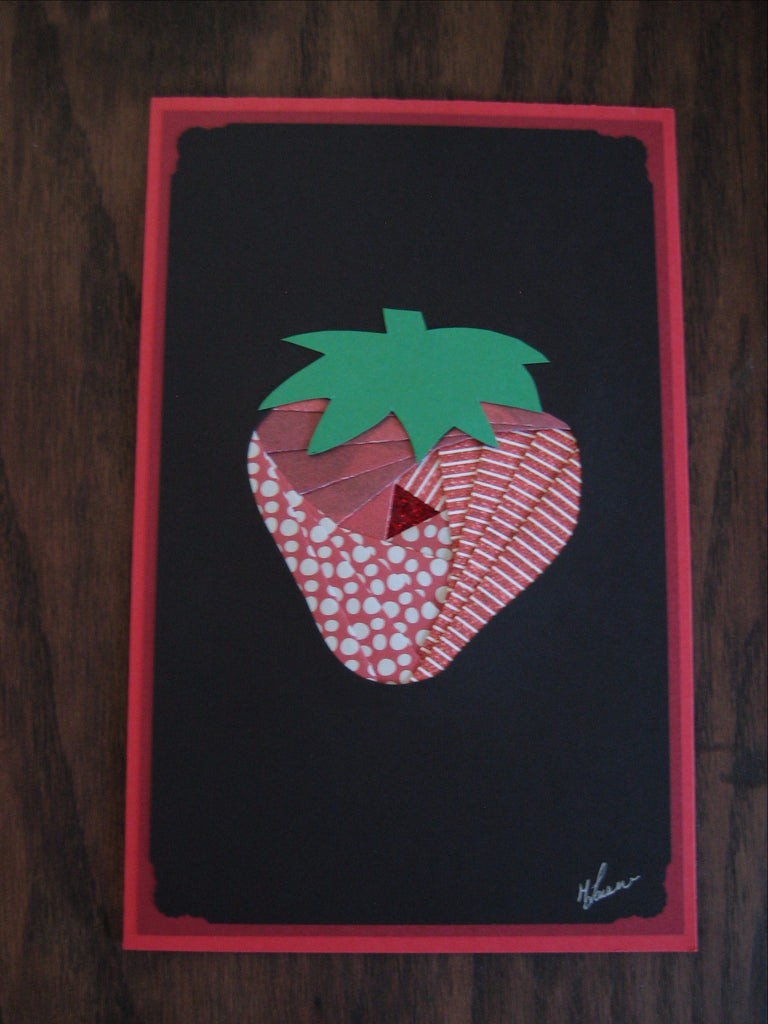 Strawberry Card - Thea-Bel