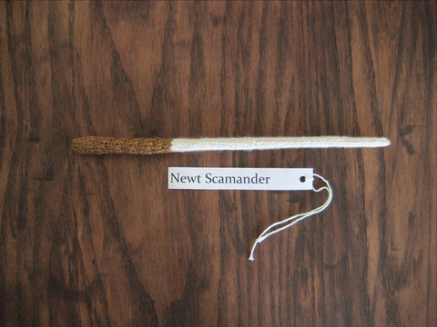 Knitted Wand - Newt - Last Chance