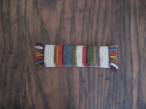 Doctor Who Knitted Bookmark - Thea-Bel