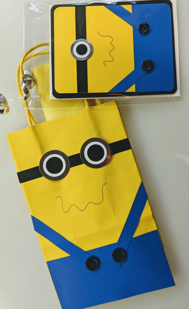 Minion Card & Gift Bag