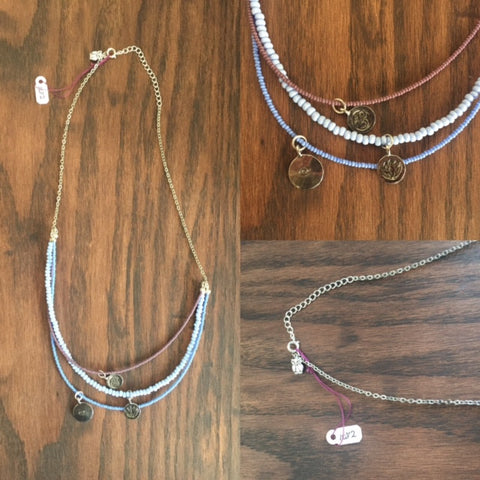 Three Strand Necklace - Last Chance