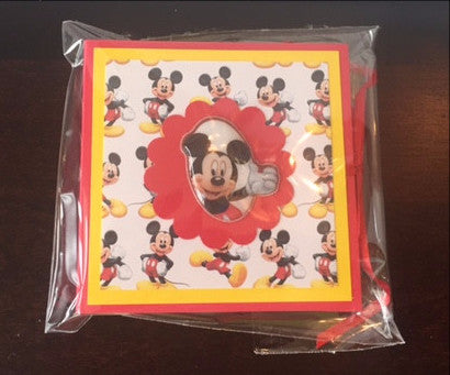Mickey Post It Note Pack