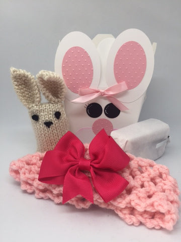 Bunny Surprise Box - Large (Blue, Pink or Purple)