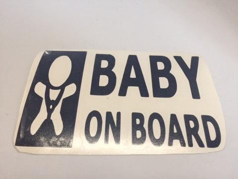 Decal - Baby on Board