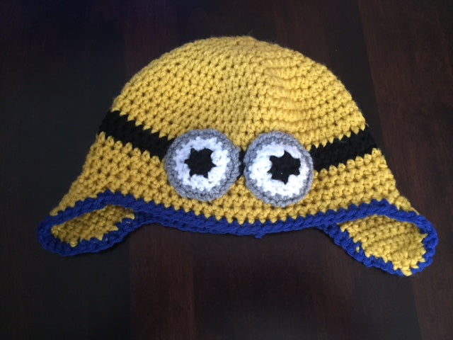 Minion Hat (Two Eyes) - Child/Youth Size