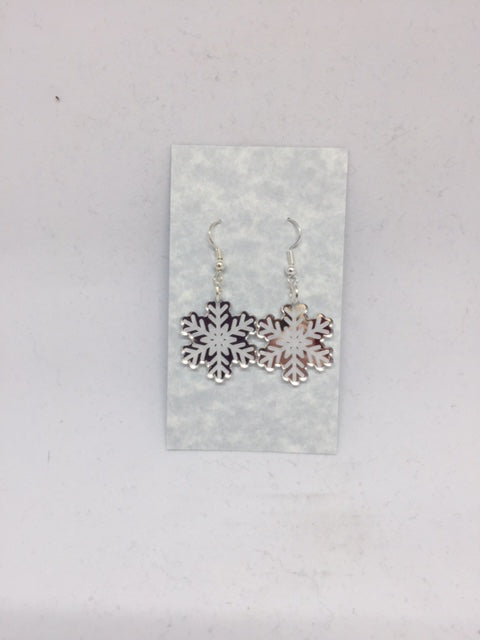 Snowflake Earrings - Nickle Free