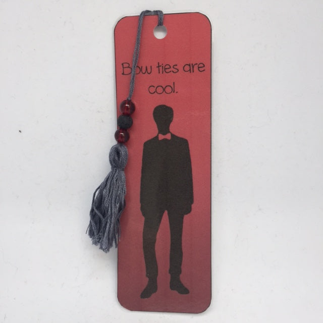 Dr Who Eleven Inspired Bookmark