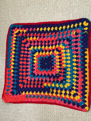 Baby Blanket - Bright Colours