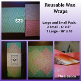 Wax Wraps - Large and Small Pack