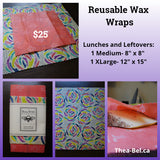 Wax Wraps - Lunches and Leftovers