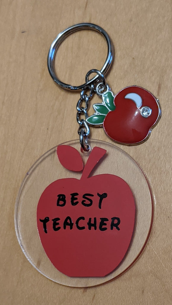 Best Teacher Key Chain