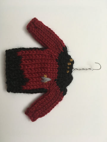 Star Trek: the Next Generation Christmas Sweater Ornament – Command (Red)