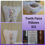 Tooth Fairy Pillows - Two Designs