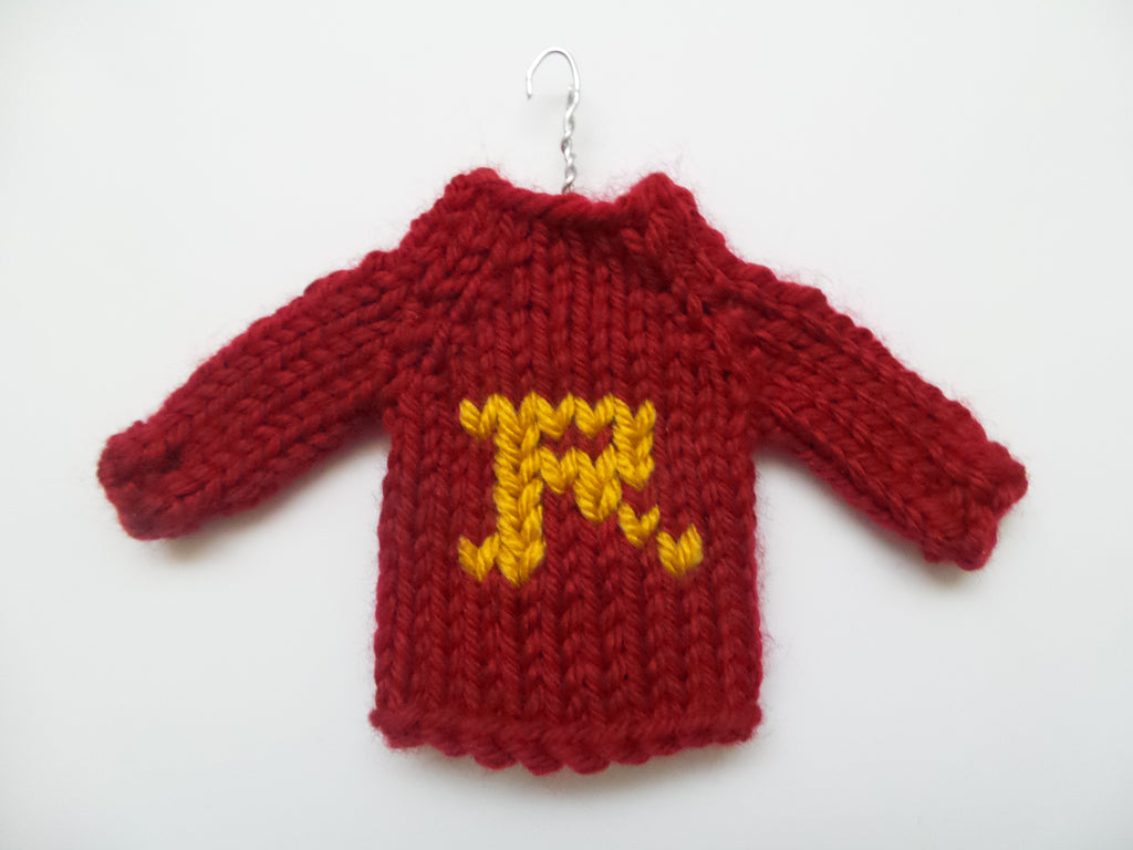 Ron Weasley Sweater Ornament - Back in stock
