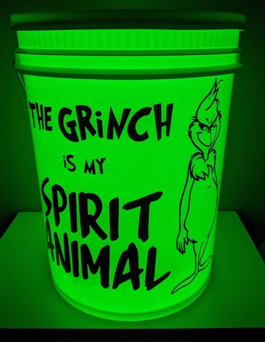 Grinch Light Up Bucket