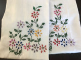 Embroidery Pillow Cases - King Size
