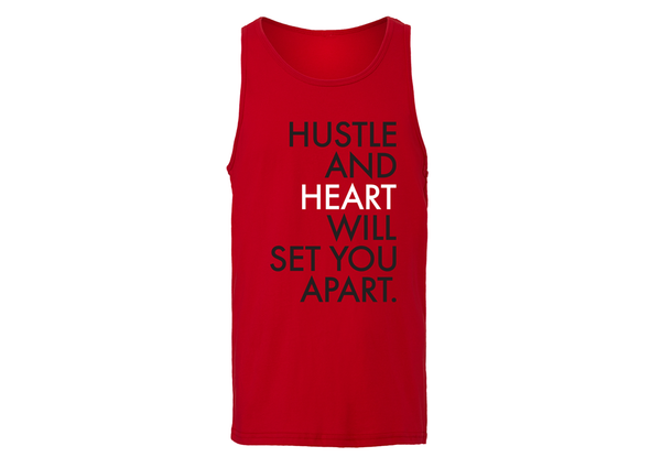 iLove Hustle and Heart Tank - Red