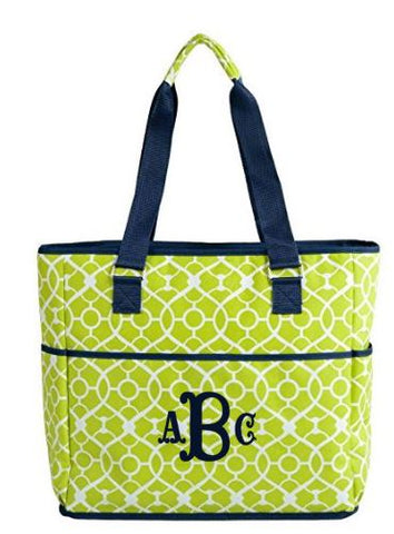 a6c9dc1894931 Large Personalized 6 Pocket Insulated Cooler/Tote Bag