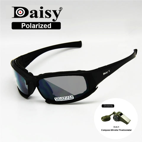 Men Army Sunglasses 4 Lens Kit Military Goggles Polarized Daisy War Game X7 gZy9hnB0