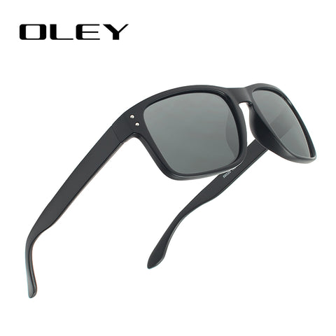 OLEY Classic Polarized Sunglasses Men Glasses Driving Coating Black Frame Fishing Driving Eyewear Male Sun Glasses Oculos Y8133 FREE SHIPPING