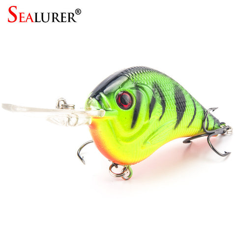 1PCS Fishing Lure Deep Swimming Crankbait 9.5cm11.4g Hard Bait 5 Colors Available Tight Wobble Slow Floating Fishing Tackle, FREE SHIPPING