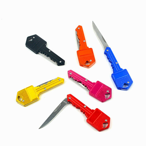 1 pcs Mini Pocket key keychain Folding Knife - FREE, pay for processing and shipping only