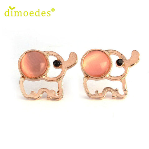 Elephant Rhinestone Ear Rings - FREE, pay for processing and shipping only