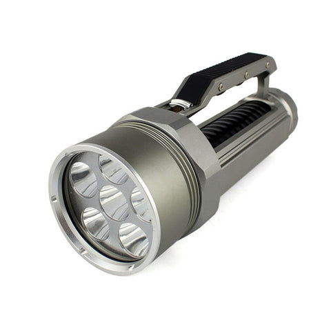 9000 Lumen 6X CREE XML L2 LED Diving Flashlight Waterproof up to 200m Depth - FREE SHIPPING