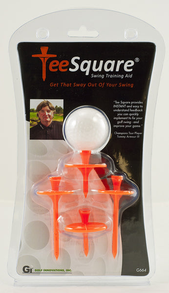 Tee Square ~ Swing Training Aid ~ Limited Time Offer 2 Packages for the price of 1