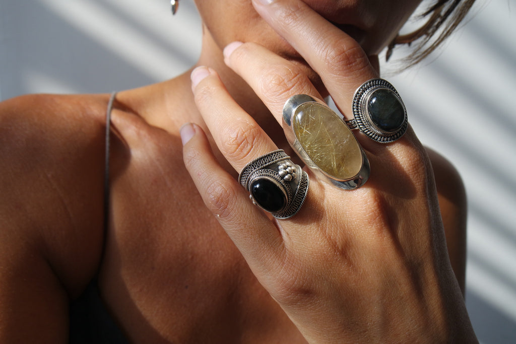 Gemstones, rings n tings... New in