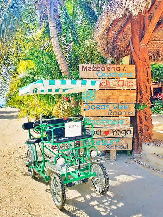 Holbox... You didn't hear about it here