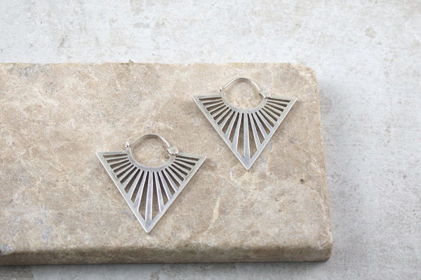 Ako Silver Earrings