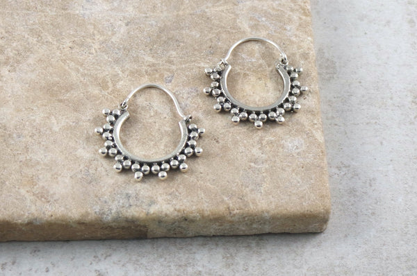 Sera Silver Earrings