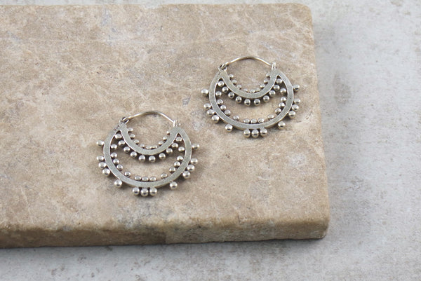 Koshi Silver Earrings