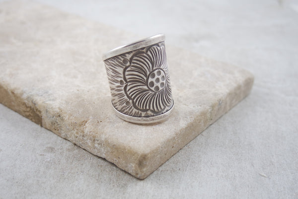Holbox Silver Ring
