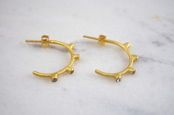 Busan Gold Dipped Earrings