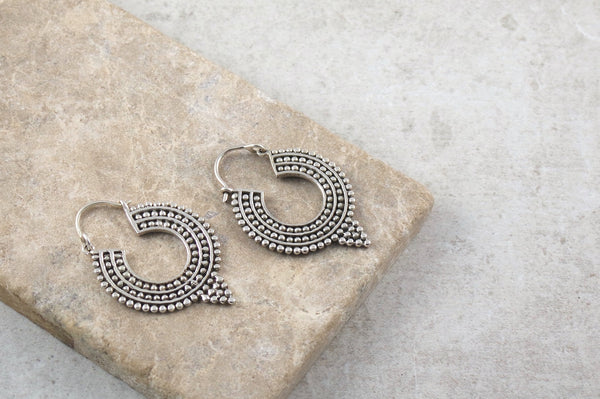Miki Silver Earrings