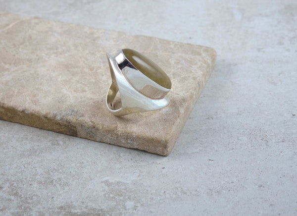 Quartz Sterling Silver Ring